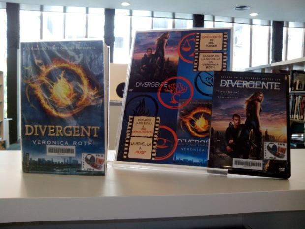 """Pack llibre + pel·li """"Divergente"""""""